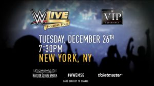 WWE Returns To The Historic Madison Square Garden In New York City Tomorrow  Night For A Raw Brand Live Event. Below Is The Final Advertised Card For  The WWE ...