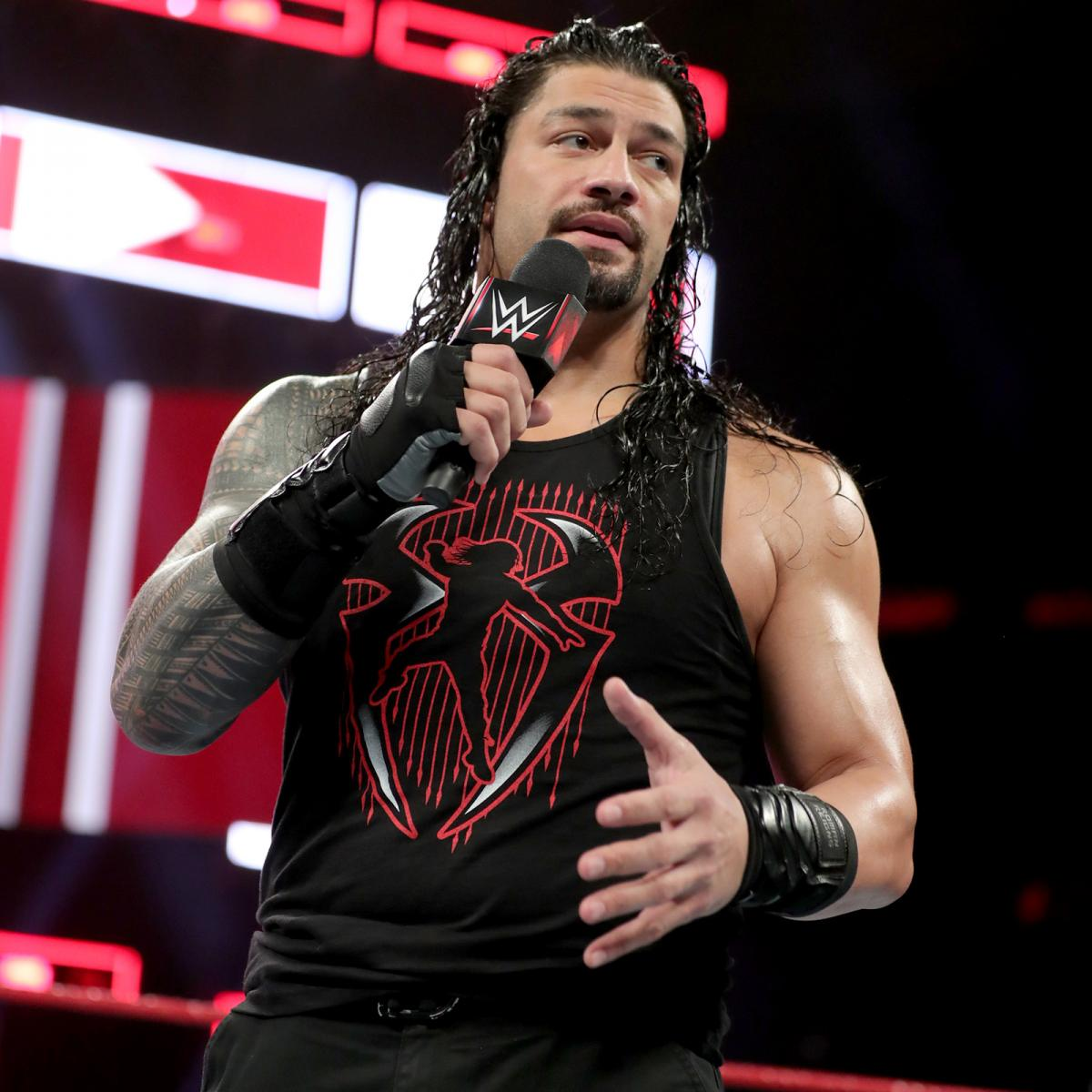 backstage news on brock lesnar no showing raw roman reigns promo
