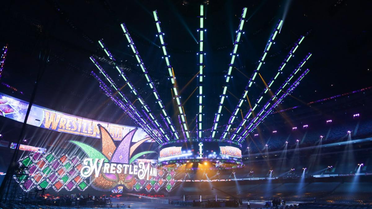 wrestlemania 34 stage