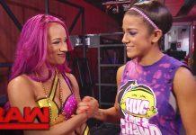 Bayley vs Sasha Banks at Summerslam