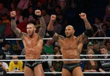 Randy orton vs Batista Wrestlemania