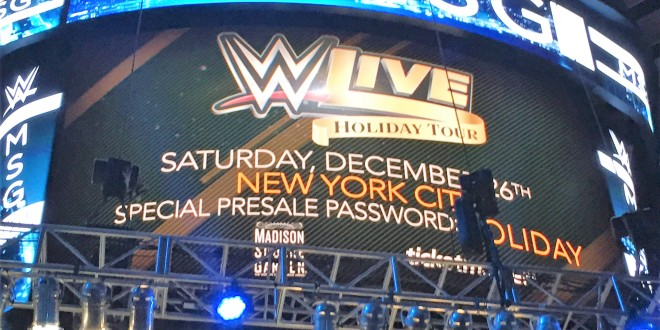 Major change made to upcoming wwe live event at madison - Madison square garden event schedule ...
